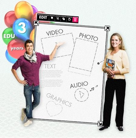 Narzędzie do tworzenia multimedialnych gazetek i prezentacji