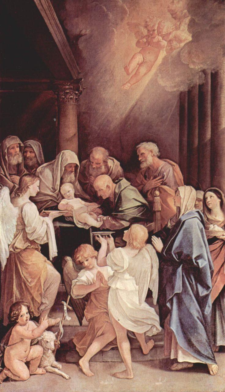 La circuncisión del Niño Jesús, Guido Reni, 1640, óleo sobre lienzo , San Martino , Ruth Pérez Buendía