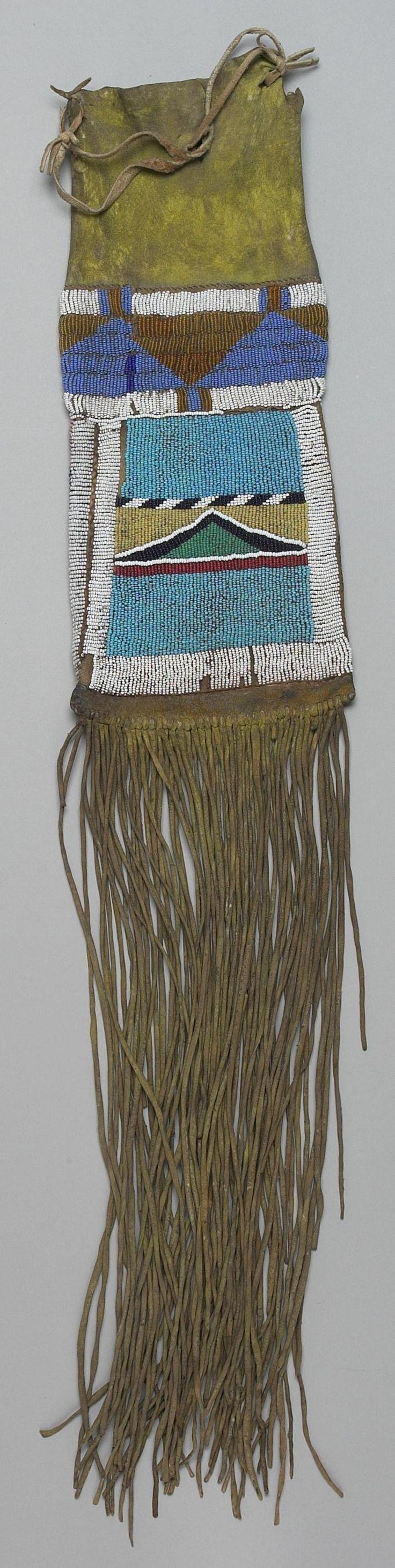 Сумка для трубки, Черноногие. 1890 г
