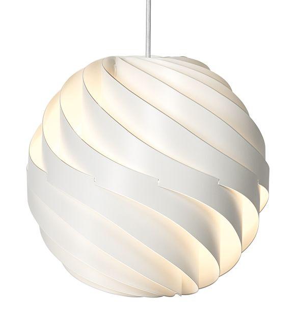 Turbo Pendant design Louis Weisdorfs by Gubi  http://www.gubi.dk/en/products/lighting/pendants/turbo/turbo-s/turbo-pendant-s-matt-white_007-01105/