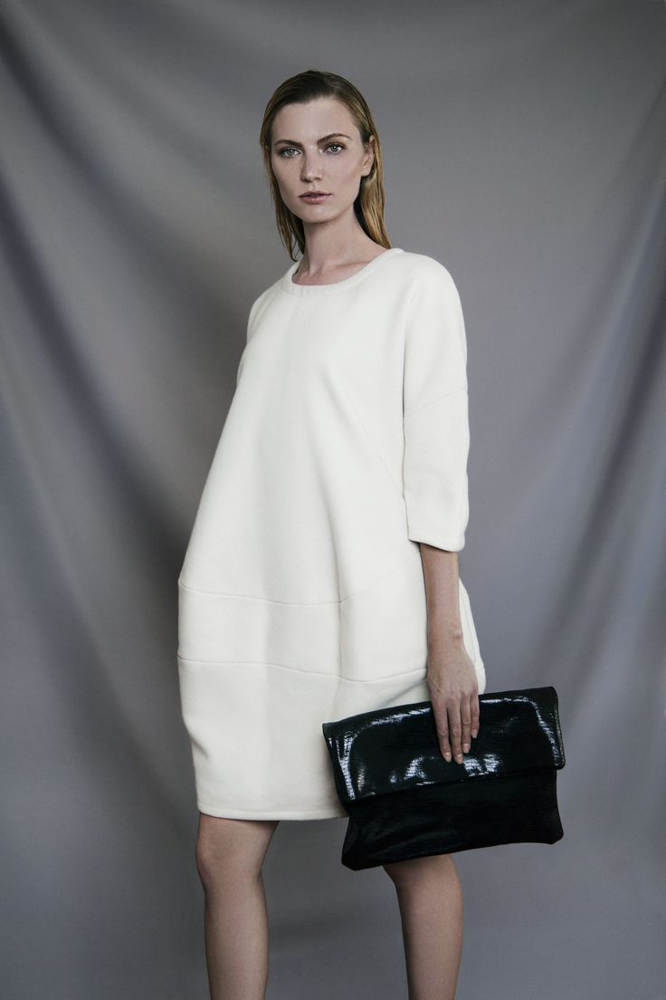 AW 2014 | Wool Cocoon Dress