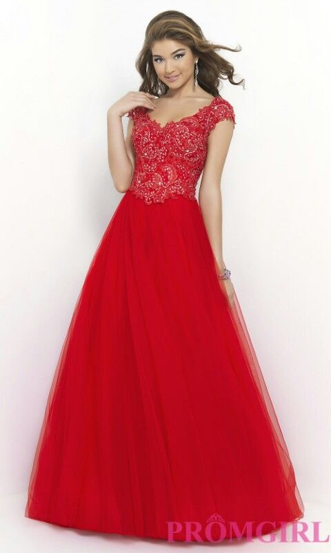 Red Lace Dress PromGirl