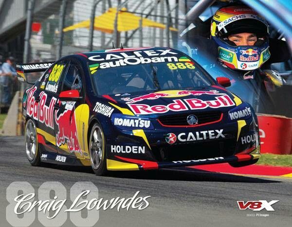 Craig Lowndes, voted best driver of the V8 super car era.