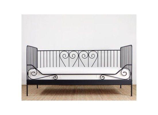 ikea meldal black wire heart twin bed frame 99 in springtime_in_glendales yard sale in glendale - Twin Bed Frame For Sale