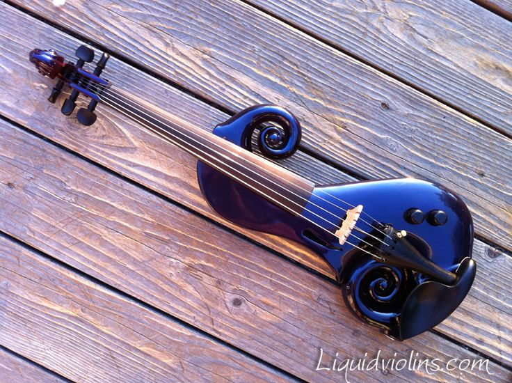 Electric violin. Something like this makes me want to take lessons.