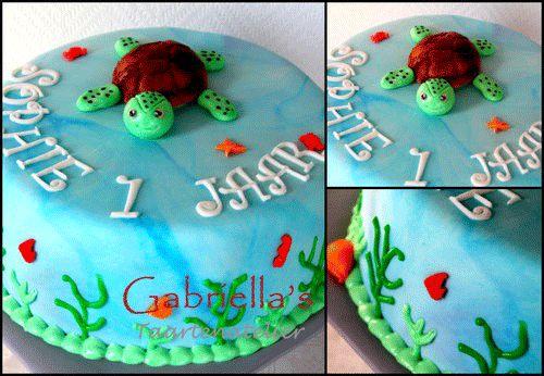 #schildpad #taart