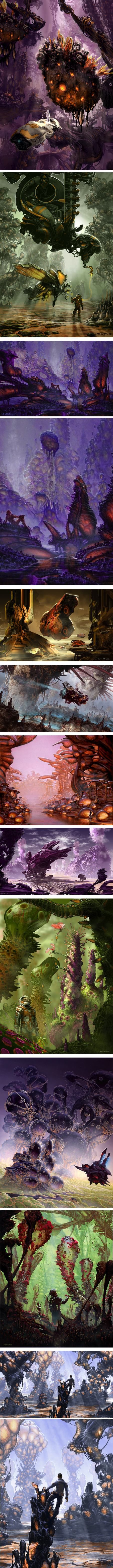 Arthur Haas, concept art and illustration