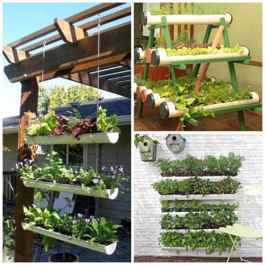 Aprenda Como Fazer Horta Vertical Suspensa: 85 Projetos E