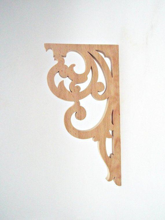 Victorian Wooden Corbel Brackets In 2020 Wooden Corbels Corbels Rustic Decor
