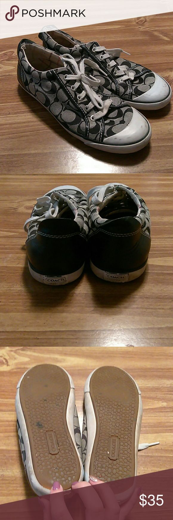 Coach tennis shoes Used Coach Shoes Athletic Shoes