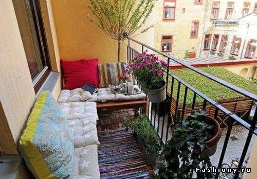 Лоджия или балкон: уголок мечты