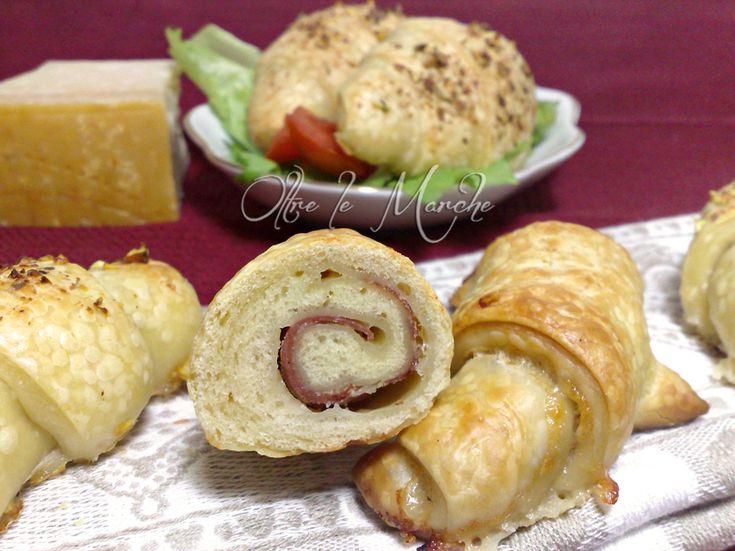 Cornetti salati ripieni, pan brioche | Oltre le Marche