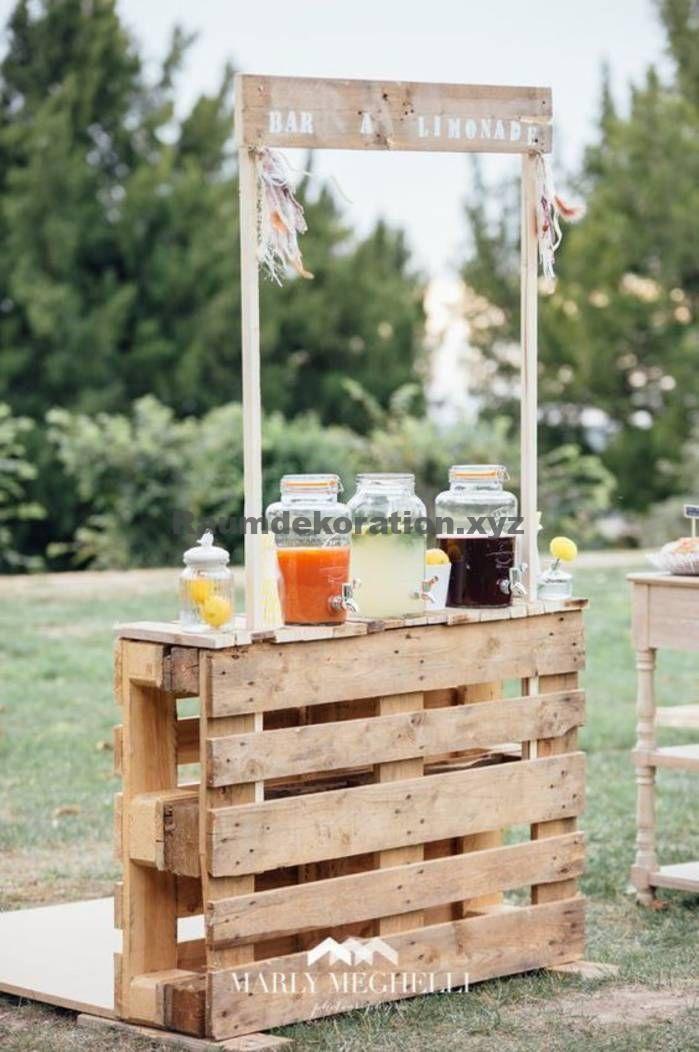 Tischdeko Hochzeit – DIY Land Hochzeit