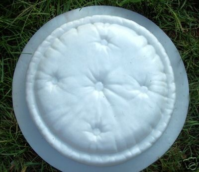 "Pillow Stepping Stone 080 Plastic Mold 2"" Thick 