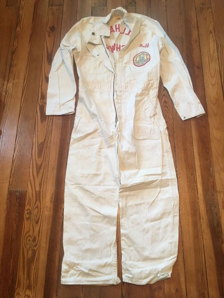 Vintage MUFF official Hall Shows bailey Circus jumpsuit coveralls clown suit    eBay