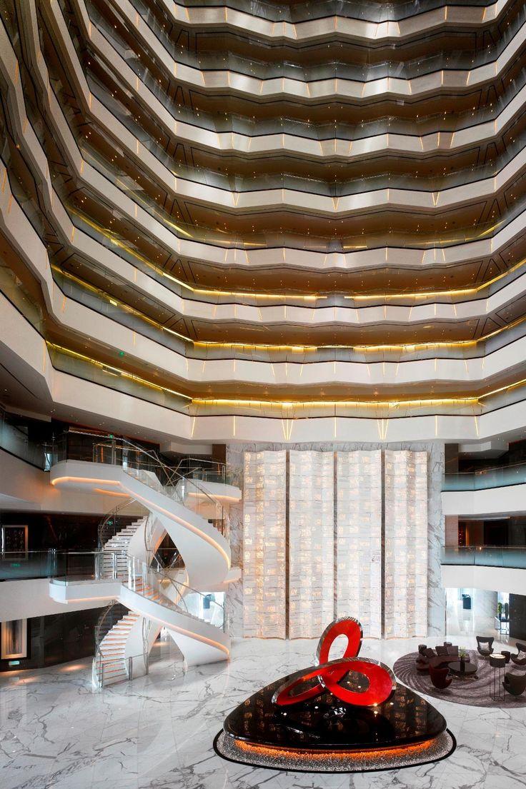 3d rendering luxury hotel lobby china luxury china hotel lobby - Sleeping Around Contemporary Hotel Design Checks In Lobby