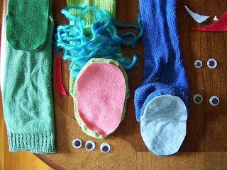 Como hacer títeres con medias 5