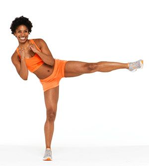 Curtsy Lunge with RoundhouseBody Workout, Quad Exercise