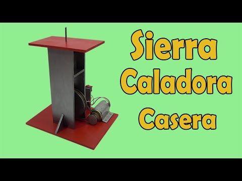 Cómo Hacer Sierra Caladora Casera (muy fácil de hacer) - YouTube                                                                                                                                                                                 Más