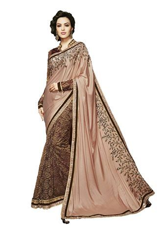 Higglerr.com New Heavy Embroidered saree