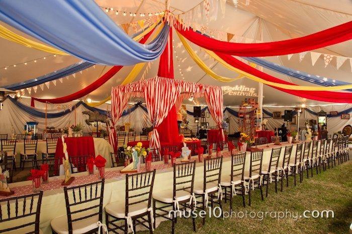 Marry me under the big top theme by Wedding Festivals.