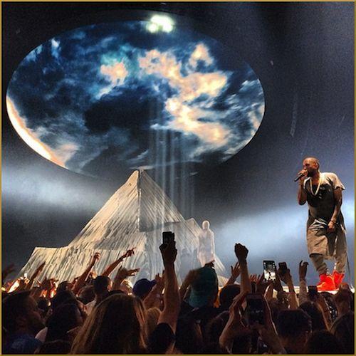 Kanye West kicks off Yeezus tour at Seattle's Key Arena