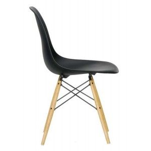 Chaise Dsw Eames Vitra Noire With Chaises