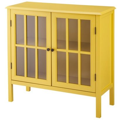 Threshold™ Windham Accent Cabinet - in Yellow!