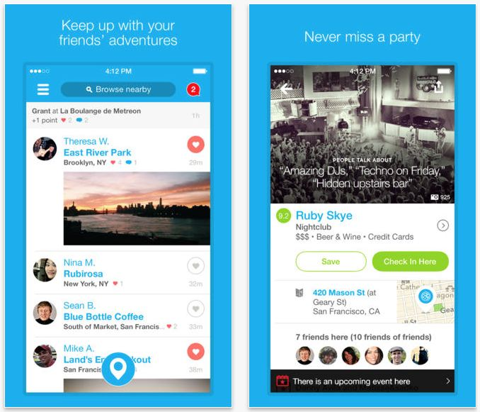 Read about the essential elements that made the social check app Foursquare a success, so you can learn how to make an app like Foursquare #foursquare