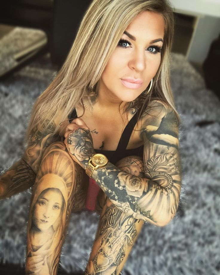 very nice tattooed and fitness model from germany. Black Bedroom Furniture Sets. Home Design Ideas