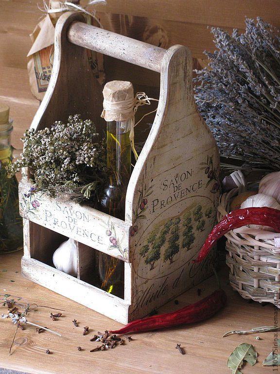 "Купить "" Savon de Provence...."" Короб. - бежевый, короб, короб для хранения"