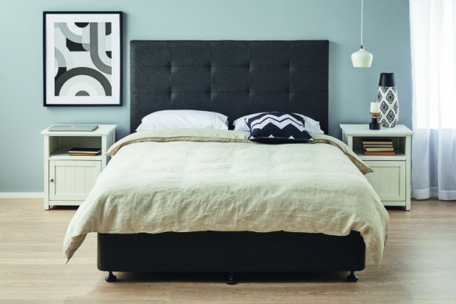 Win an upholstered bedhead in your choice of shape and fabric - The Interiors Addict