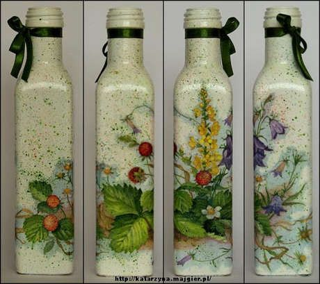 Beuatfully transformed bottles! http://10marifet.org/imaj/03bellinda/2426925585-d516023971.jpg