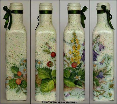 Beuatfully transformed bottles! http://10marifet.org/imaj/03bellinda/2426925585-d516023971.jpg