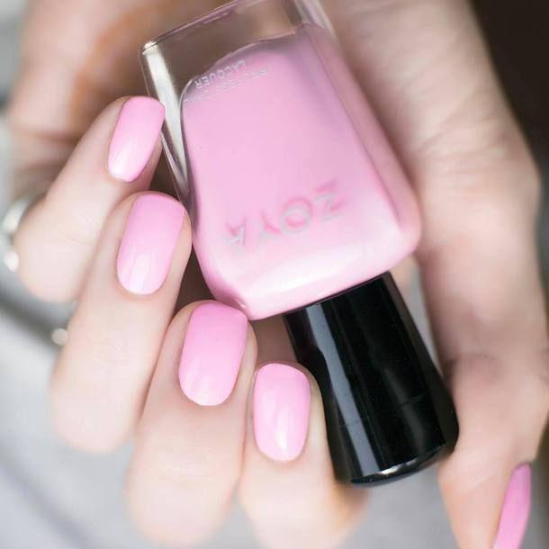 $10 Baby Pink Zoya Nail Polish Nail Varnish Pastel Pink