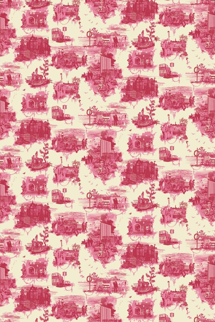 Timorous Beasties Wallcoverings - Edinburgh Toile wallpaper