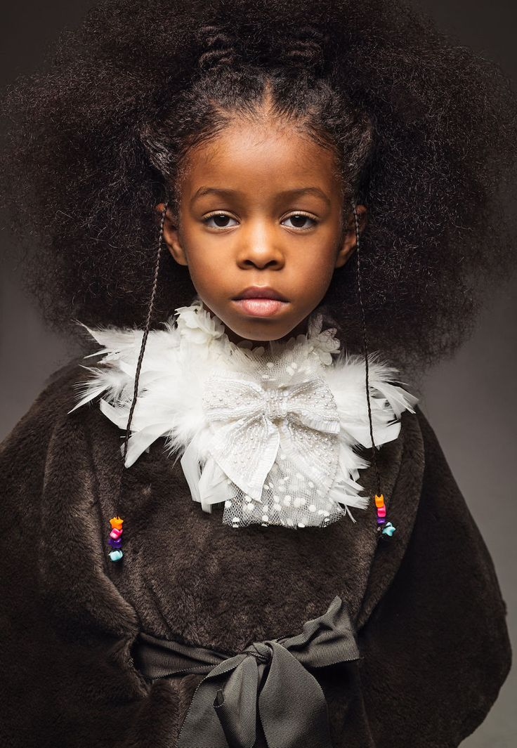 Baroque-Inspired Portraits Of Black Girls Highlight Their Amazing Natural Hair So Other Girls Would Stop Hiding It | Bored Panda