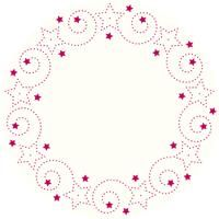 Swirl Star Wreath Rhinestone