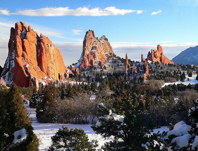 Garden of the Gods, Colorado.