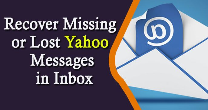 You don't need to suffer to recover your Missing or Lost Yahoo Messages in Inbox. Yahoo mail experts will guide you in a right direction to recover it in just single moment and brings your mailbox back on track.