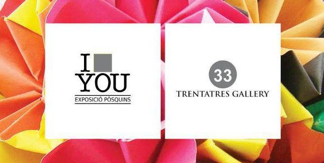Nueva exposición I POSQUIN YOU 2015, en la Trentatres Gallery de Valencia, del 11 de diciembre al 7 de enero de 2016. Muestra colectiva que recoge obras de pequeño formato (7'5x7'5 cm) donde 185 ar...