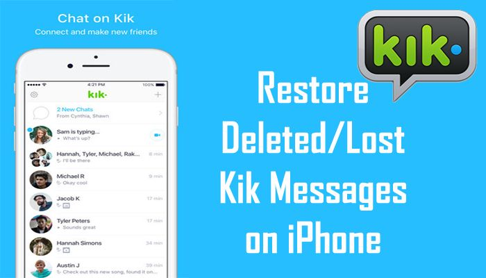 kik how to delete contacts
