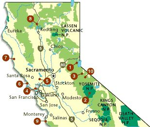 Top 10 Northern California Adventures