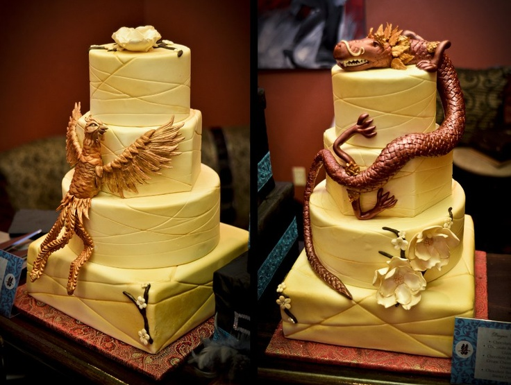15 best Cakes Dragon and Phoenix images on Pinterest Dragon