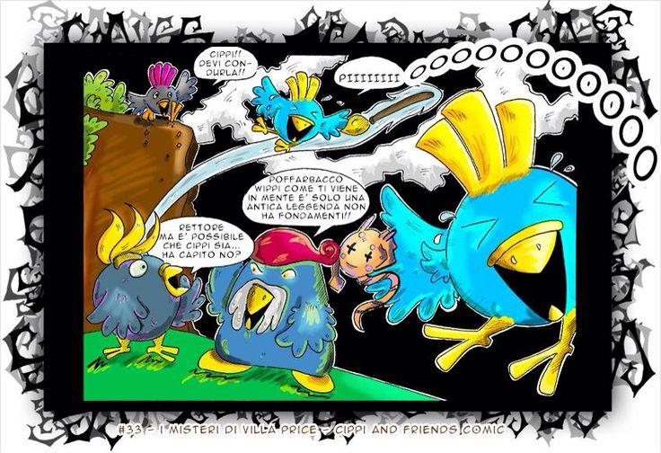 Pagina 33 la fine del volo di Cippi!