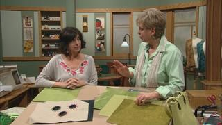 Handbags 2—Designer Knockoffs, Part 1 Video from Sewing with Nancy. Tame the trickiest tasks of stitching a designer handbag using sewing and embroidery tips from Nancy and embroidery specialist Eileen Roche. Learn how to add grommets for function and flair. Take sewing handbags to a new level.