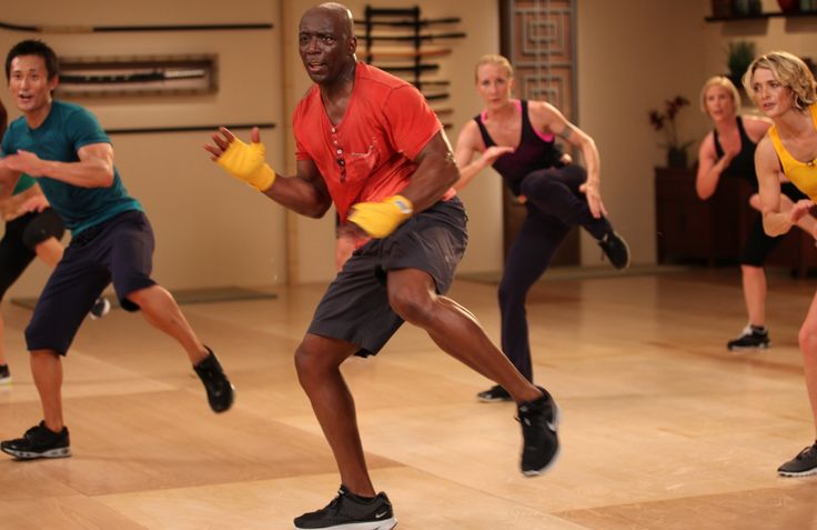 Tae Bo workout with Billy Blanks!