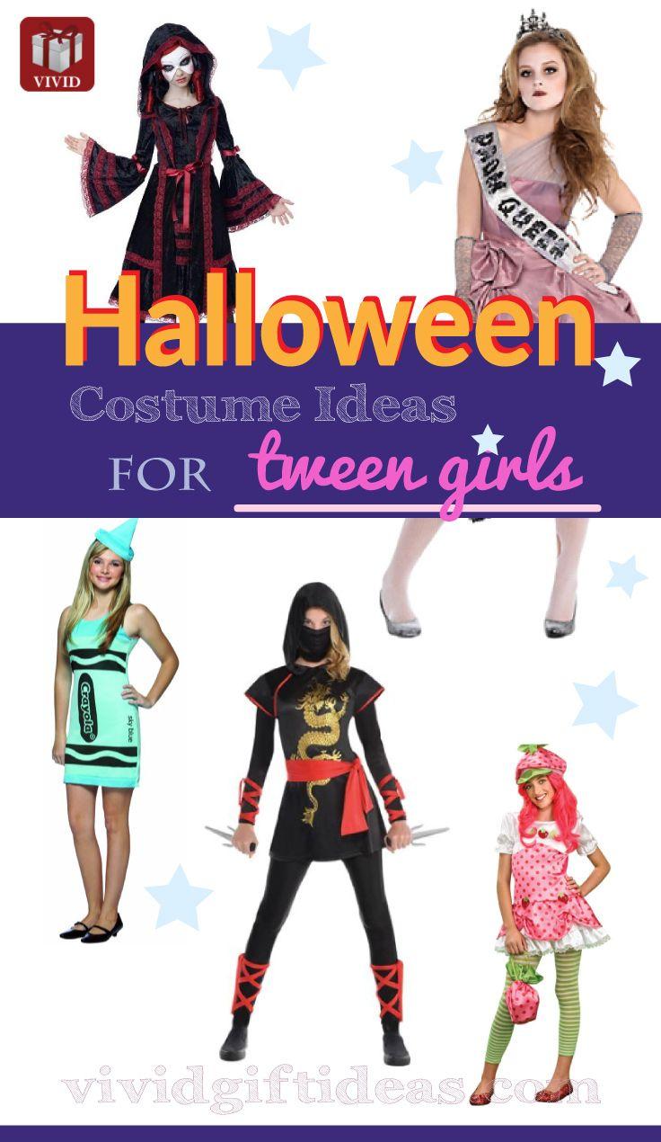 Halloween Costumes for Tween Girls