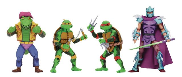 Neca To Release Tmnt Turtles In Time Series 2 Figures In July 2021 Neca Teenage Mutant Ninja Turtles Teenage Mutant