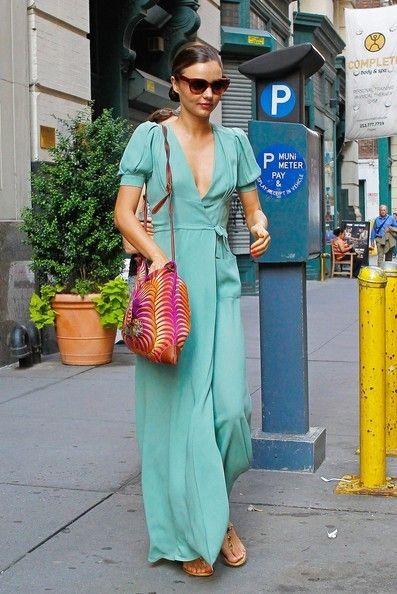Miranda Kerr wearing Prada 17OS Heritage Cat-Eye Sunglasses in ...